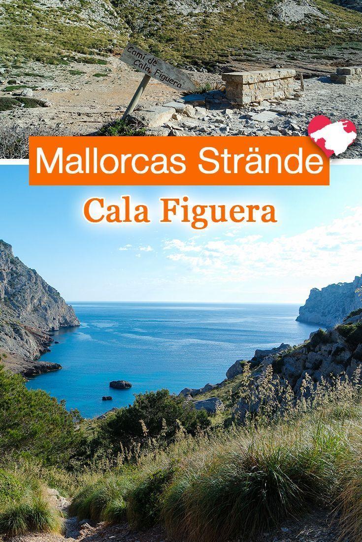 Cala Figuera Kleiner Wilder Strand Am Cap Formentor Cala