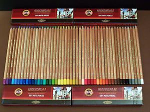 48 Pastellstifte Kreidestifte Soft-Pastellkreidestifte Pastellkreiden KOH-I-NOOR | eBay
