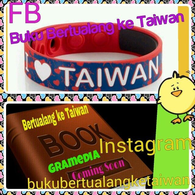 "#Oktober #2014 #Rilis #↖(^ω^)↗ #Buku ""Bertualang ke Taiwan"" #Terbitan #Gramedia   #Baca #BukuBertualangKeTaiwan, Ikuti Petunjuknya,Rasakan Sensasi Petualangannya (^ω^)  #愛 台灣 以前,的時候, 以後 (^ω^) Love Taiwan Before, During, and After  Taiwan is a Beautiful Heart Because Taiwan Will Touch you (^ω^) #BKT"
