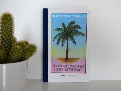 """Der Teufel, die Wassermelone, die Sonne, der Dandy, der Regenschirm, die Flasche, der Betrunkene – lose Aneinanderreihung von Wörtern? Nein, das sind sieben Karten aus dem mexikanischem Glücksspiel Loteria, ähnlich unserem Bingo. Mario Alberto Zambrano hat diese Loteria-Karten für seinen Roman """"Sonne, Mond und Sterne"""" verwendet."""