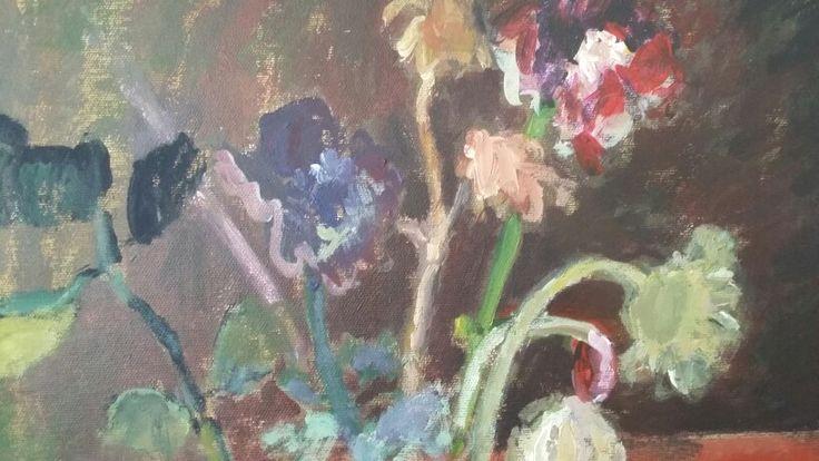 Flori (detaliu), 50/50cm, a/p, 2015