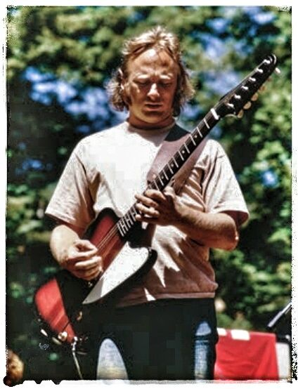 Stephen Stills 1974 with his Gibson Firebird I