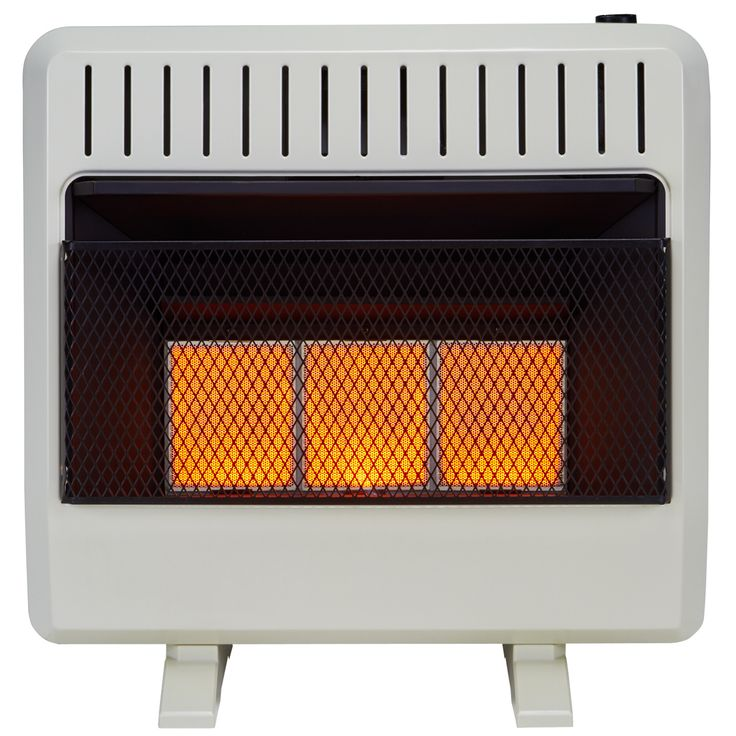 Gas Space Heaters With Blowers : Avenger dual fuel ventless infrared heater btu