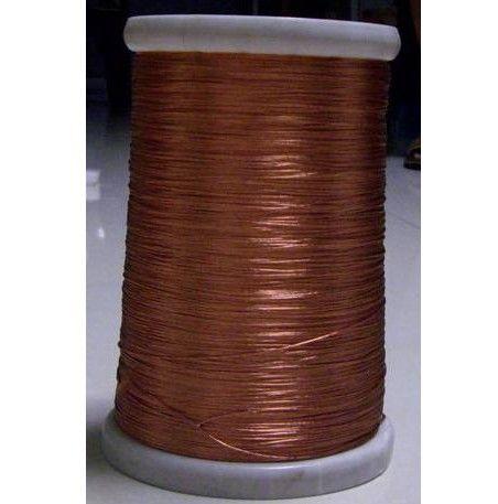 0.1 x 60 strands, 10 м/катушка, Литцендрат, На мель эмалированная медная проволока / плетеный нескольких 7,5-дюймовый-strand провода