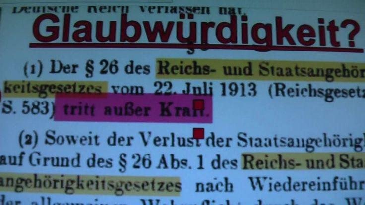 Was ist dran an der Glaubwürdigkeit von staatenlos.info Rüdiger Hoffmann?