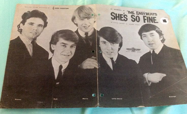 """The Easybeats. 1960s Australian group formed by two Brits, two Dutch and one Scot. Most famous for hits such as """"She's So Fine"""", """"Friday On My Mind"""" and """"Sorry"""".  In memory of their legendary lead singer, Stevie Wright ❤️  20/12/1947-27/12/2015 ❤️"""