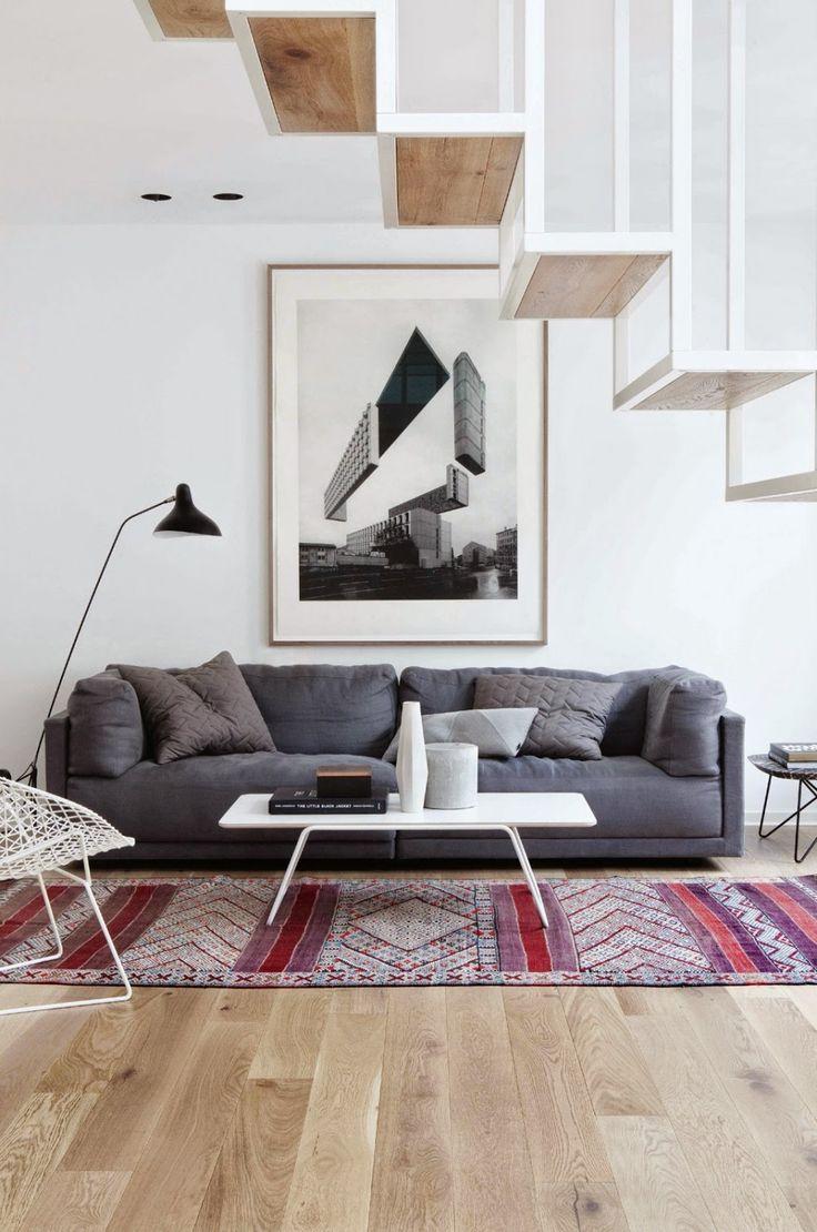 дневник дизайнера: Скандинавский интерьер квартиры Idunsgate в стиле лофт