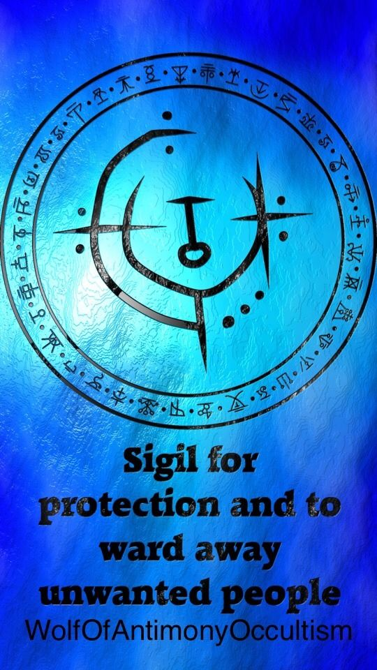 Runes And Sidils — Day 5: How are your protections/wards? Have you
