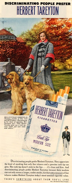 vintage everyday: Cigarette Ads in 1950's