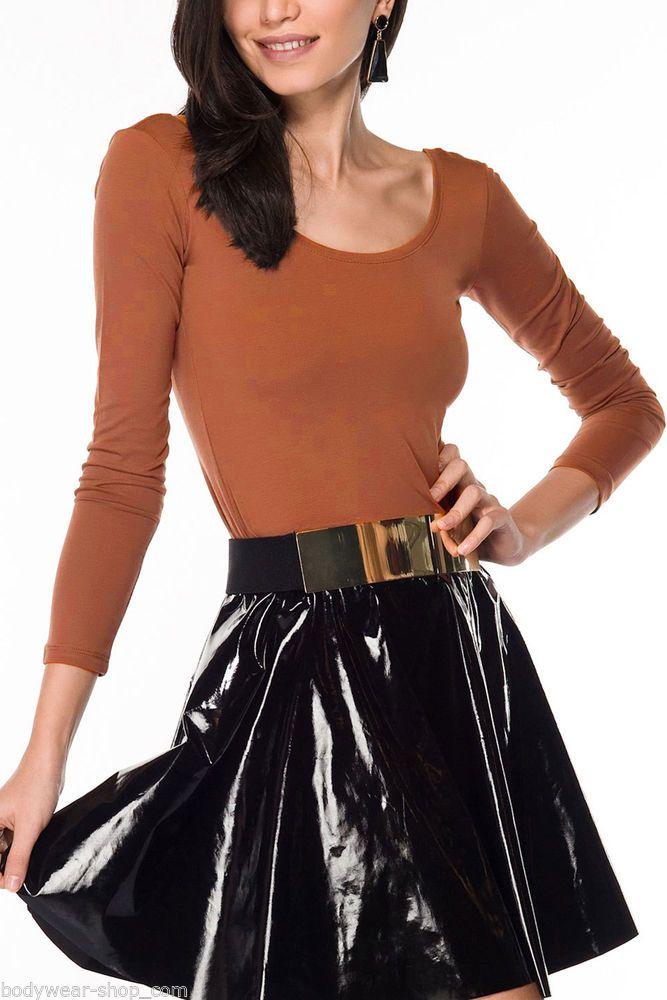 bodywear shop damen langarm t shirt r ckenfreies bodyshirt. Black Bedroom Furniture Sets. Home Design Ideas