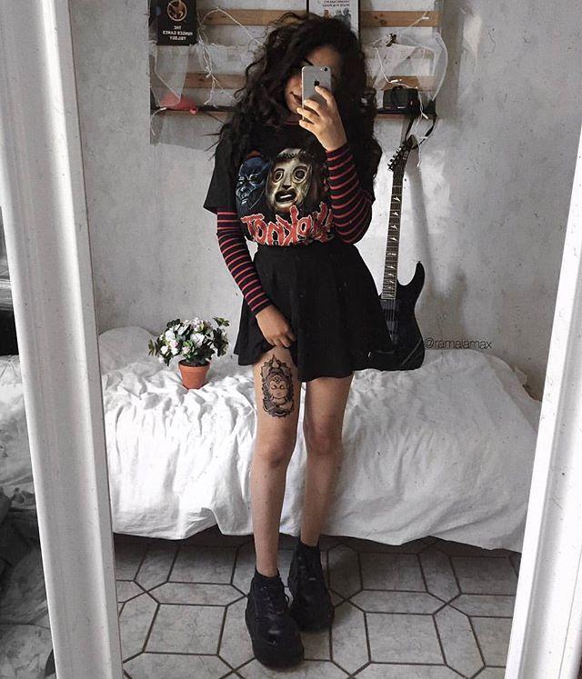 •pinterest  fashionista1152 •  alternative outfits