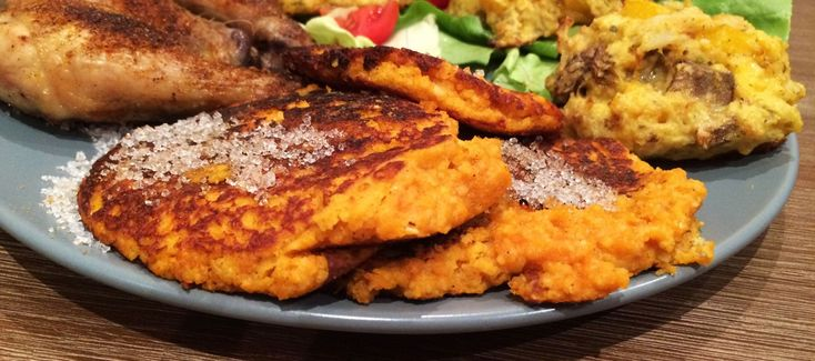 Pumpkin Fritters (Pampoenkoekies). Very decadent side dish or can even be served as a dessert.