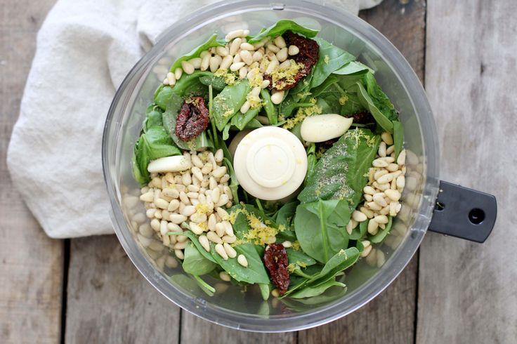 Vegan Basil Pesto Recipe - Dr. Axe