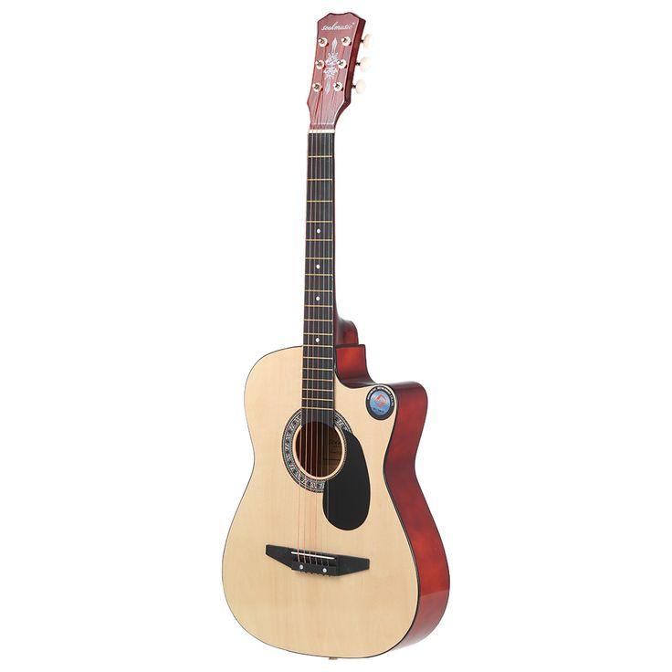 """38 """"6-строка народная Акустическая гитара для начинающих любителей музыки студенты подарок"""