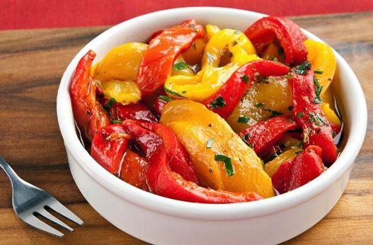 Peperoni alla griglia - La ricetta di Buonissimo