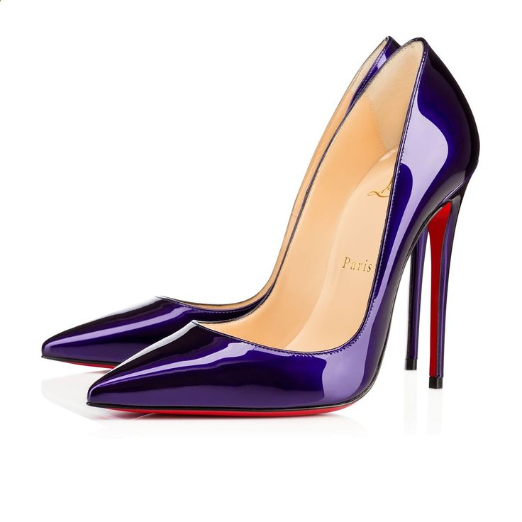 So kate 120 glossy patent patent 120 ELECTRO Patent - Women Shoes - Christian Louboutin