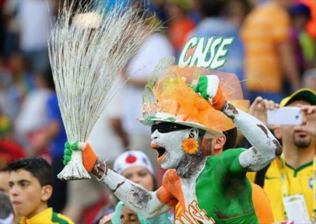 Crazy Fans Who Are Making The Most Of The World Cup