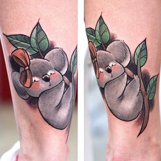And this pretty one with an equally pretty bow. | 24 Beautiful Australian Tattoos You Definitely Wouldn't Regret