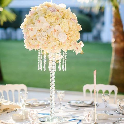 Make your wedding dream come true.. : @paperflowerscyprus Photo credit: The Hacks Photography Cyprus #paperflowerscyprus #weddingdecor #weddingflowers #weddingdestination #tablecenterpiece #grecianweddings #weddings #grecianpark #grecianparkhotel #protaras #cyprus