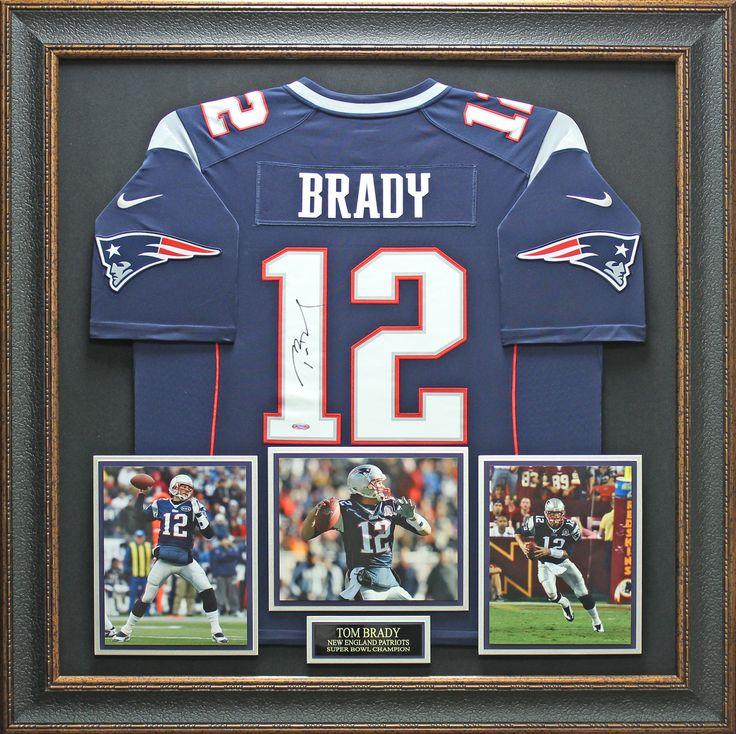 Signature Royale - Tom Brady Signed Patriots Jersey Display., $2,174.95 (http://www.signatureroyale.com/tom-brady-signed-patriots-jersey-display/)