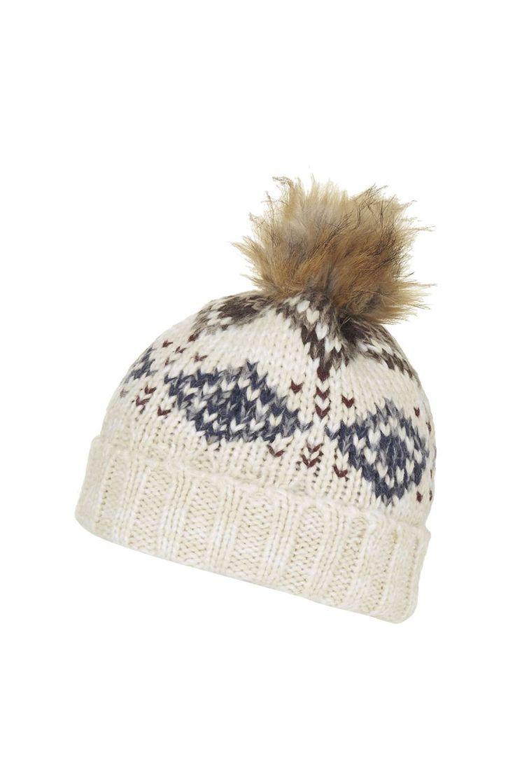 Photo 1 of Fairisle Beanie Hat