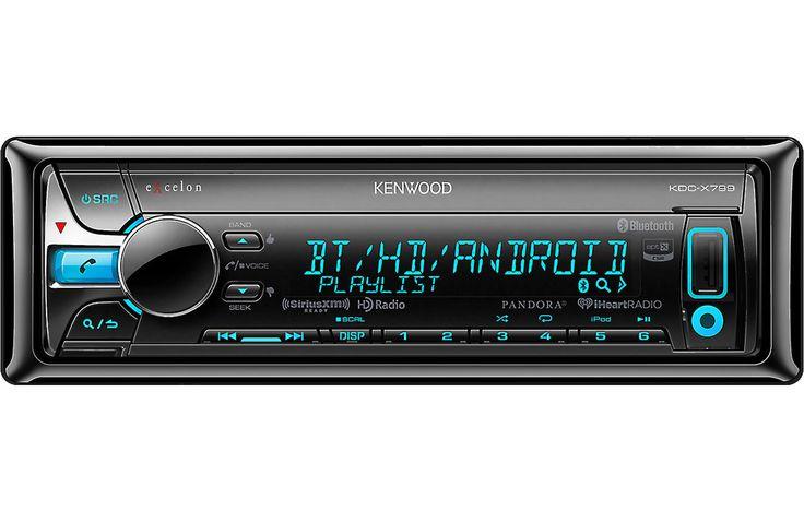 Autoestereo Kenwood Excelon Kdc-X799 USB / Mp3 / Auxiliar
