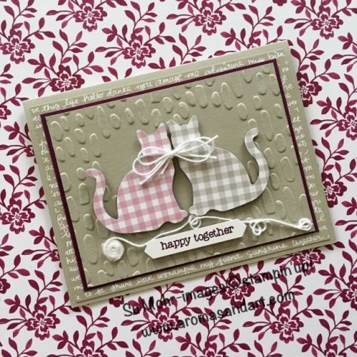 Best 25 cat cards ideas on pinterest grandpa birthday for Stampin pretty craft room