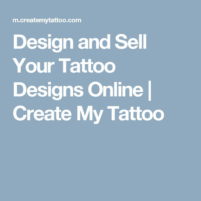 Design and Sell Your Tattoo Designs Online | Create My Tattoo