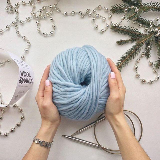клубок пряжи Keep Calm Tis Wool, толщина нити 7-8 мм, 100% перуанская шерсть