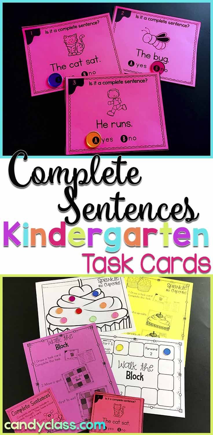 Do your students struggle with writing complete sentences? Do they use a  lot of sentence