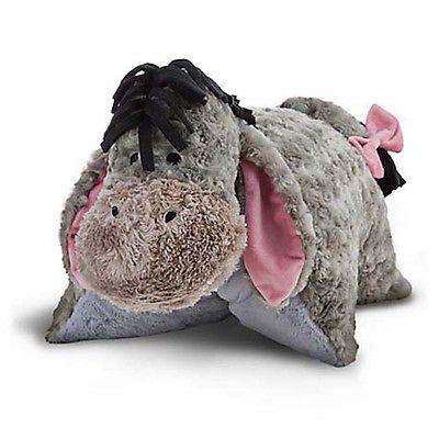 disney parks eeyore reverse pillow pet plush new with tag