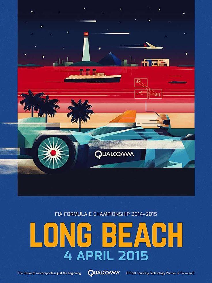Formula E Championship Posters