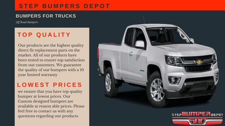 Shop Top Quality Bumpers For Truck- Off Road Bumpers- Front & Rear Bumpers