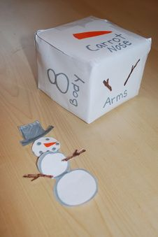 Build a Snowman Game. 24 days of Christmas activity