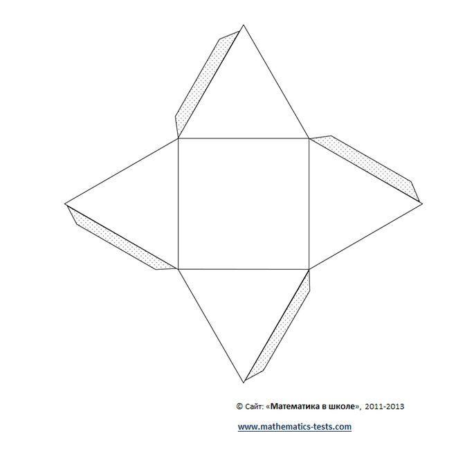 Объемные фигуры своими руками схемы шаблоны 207