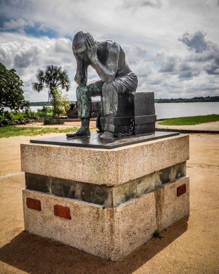 Le Bagnard - The convict. Saint Laurent du Maroni. French Guyana.