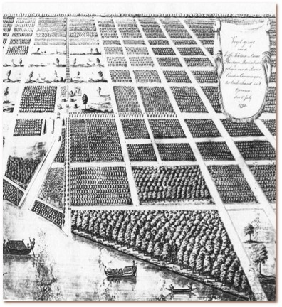 How the Dutch worked the land on the plantations in Surinam in 1700. Just like home!?