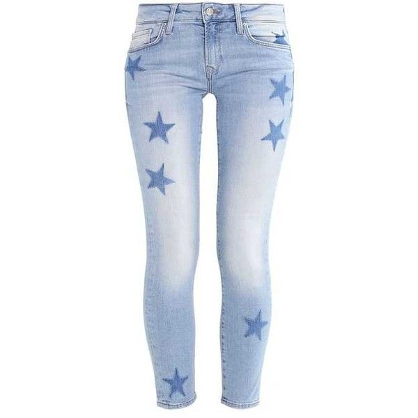 ADRIANA Jeans Skinny Fit light blue ($91) ❤ liked on Polyvore featuring jeans, light blue jeans, super skinny jeans, light blue skinny jeans, skinny jeans and skinny fit jeans