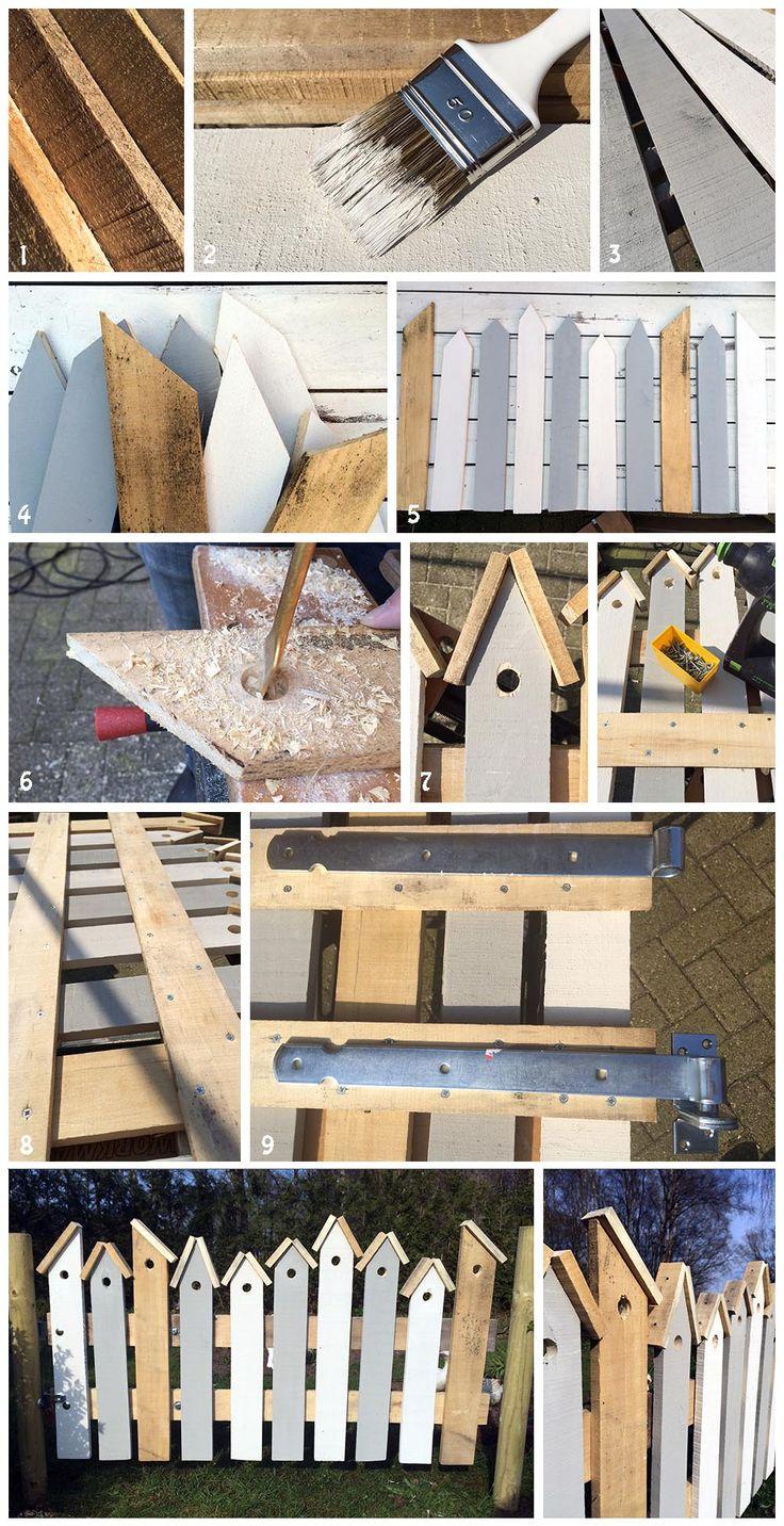 Holz Zaun Mehr