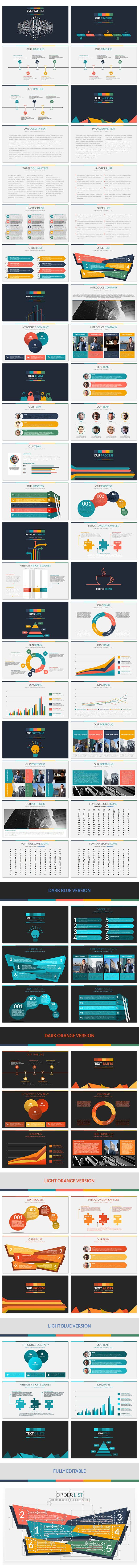 Business Pro PowerPoint Professional Business Template 89