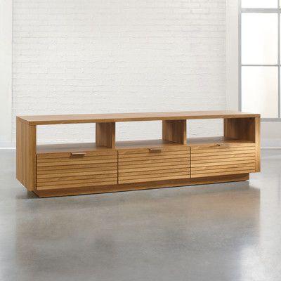 Hokku Designs Soft Modern TV Stand | AllModern