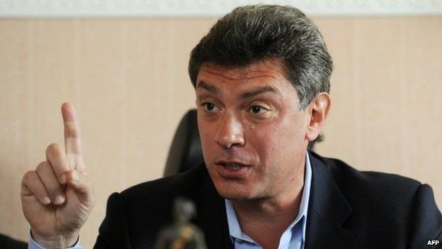 Boris Nemtsov, a former deputy prime minister and leading Putin opponent murdered by Putin