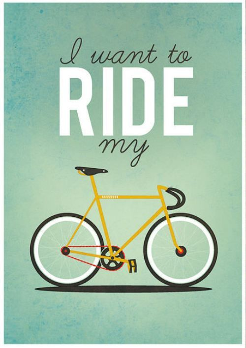 I want to ride my bicycle...Design Inspiration, Bicycles, Queens, Illustration, Bikes Riding, Prints, Bikes Art, Posters, Riding A Bikes