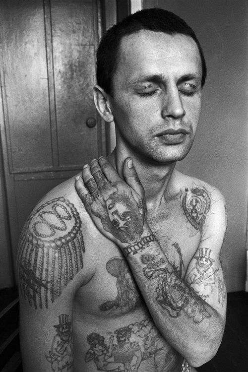 Russian prison tattoos.