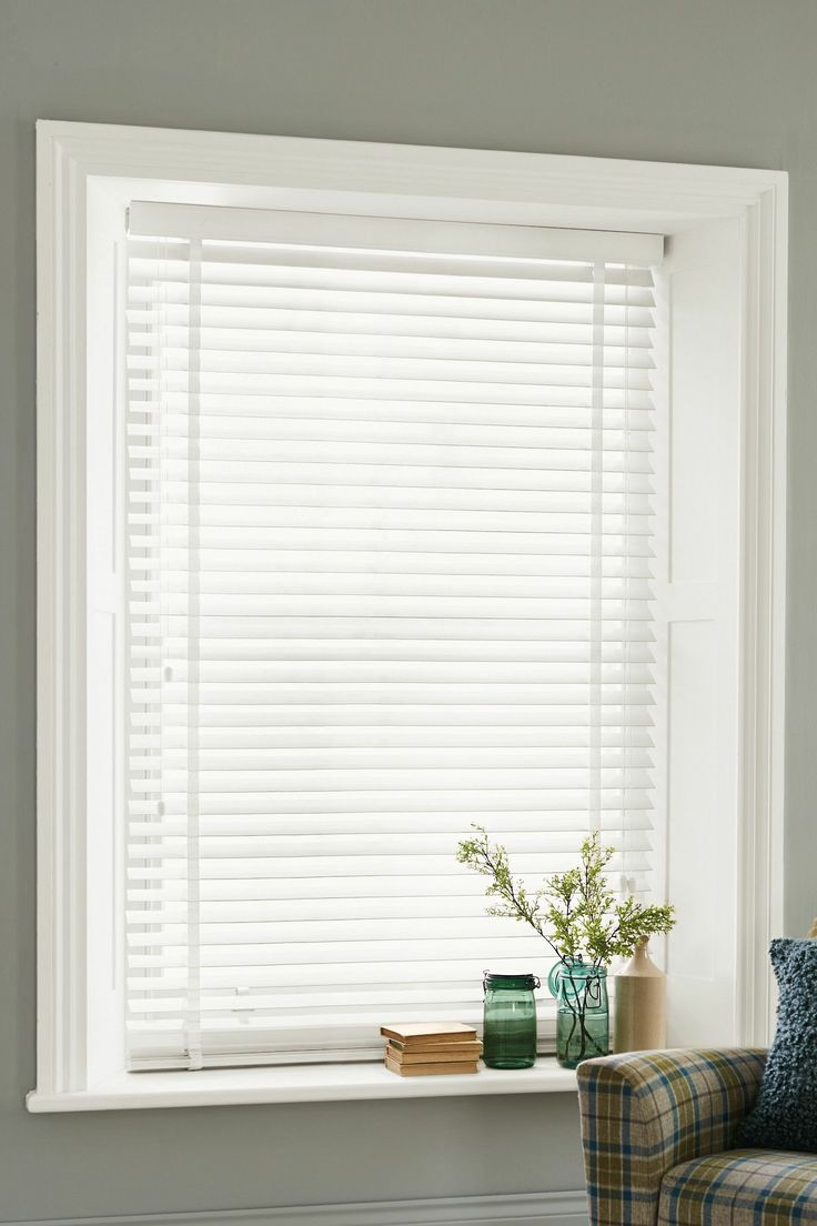 Awesome White Venetian Blinds