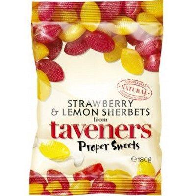 Tavener's Lemon and Strawberry Sherbets