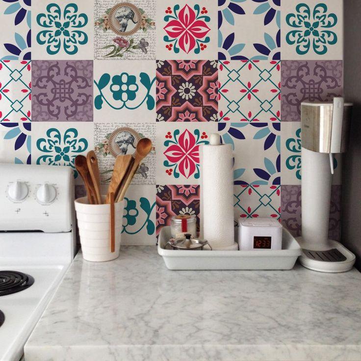 Adesivo Flor De Hibisco ~ 17 melhores ideias sobre Grudado Adesivos no Pinterest Grudado, Quarto tinker bell e Banheiro