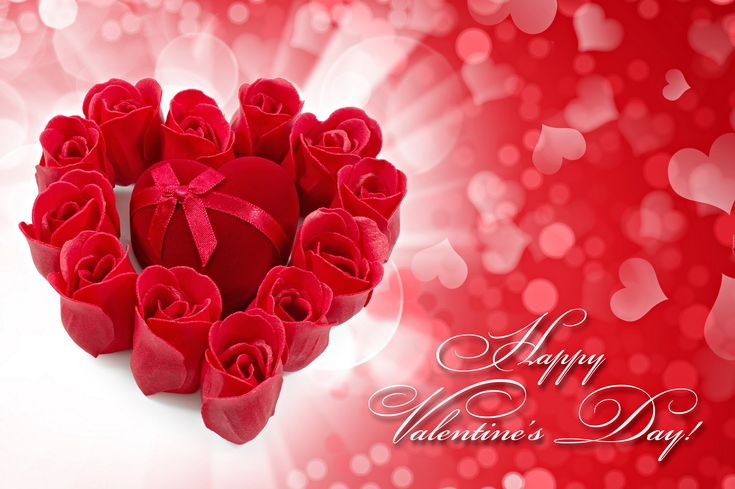 Róże, Serduszko, Walentynki