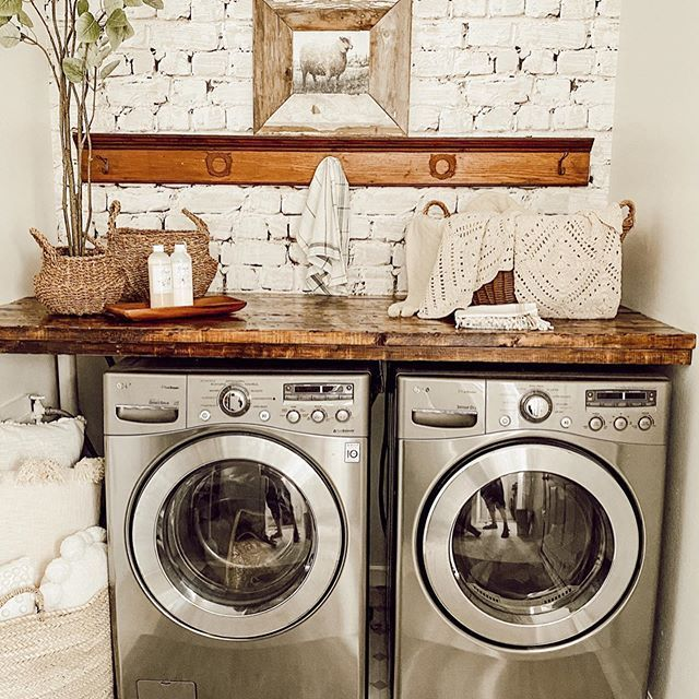 Simple Home Decor Deb And Danelle Laundry Room Inspiration Easy Renovations Affordable Home Decor