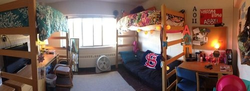 Western Michigan University!  Abby  Ellie's Room! We are still working on it, but here it is so far!